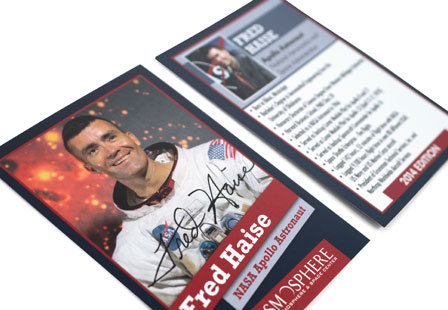 Silk Laminated Trading Cards